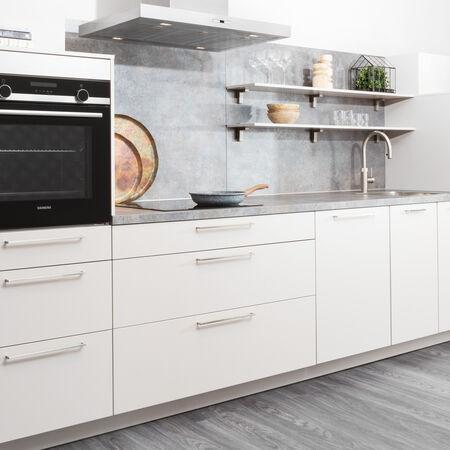 witte design keuken