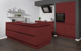 Rode keukens bij KeukenConcurrent