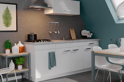 Keukenblok ideaal voor kleine ruimtes keukenconcurrent