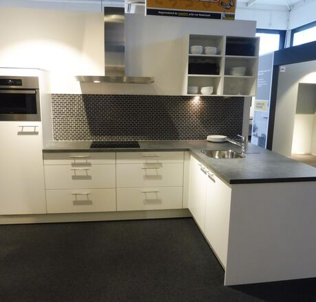Showroomkeuken Wit Den Bosch