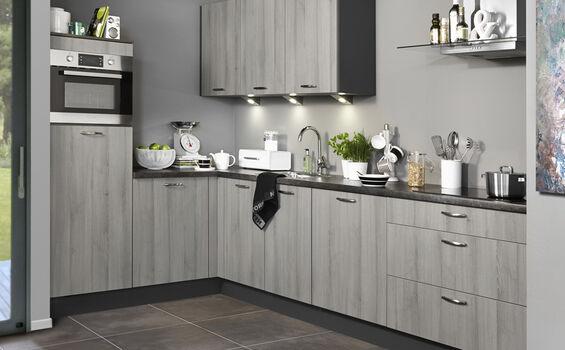 Lichtgrijze keuken