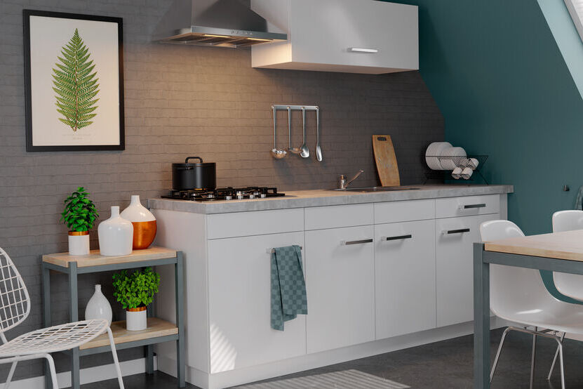Rechte keuken Rogier