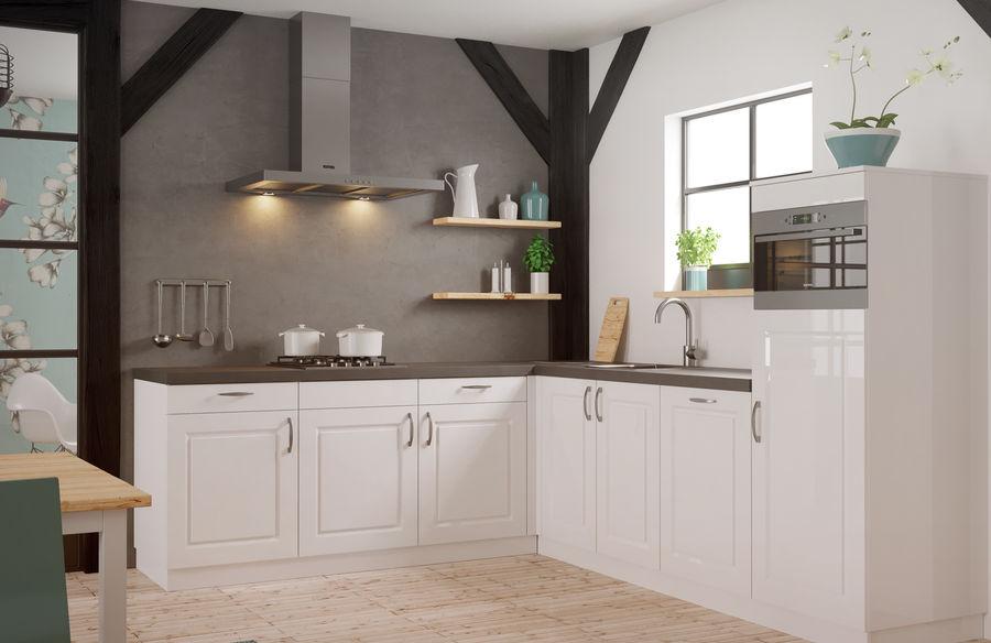 Witte Keuken Voordelen : Lisa bekijk deze keuken online bij keukenconcurrent