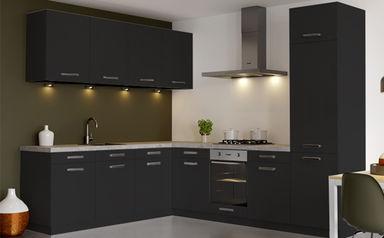 Strakke Zwarte Keuken : Zwarte keukens onze tips en inspiratie u2013 keukenconcurrent
