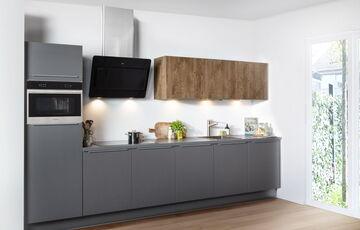 modern houten keuken