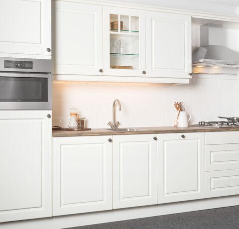 wit gelakte keuken