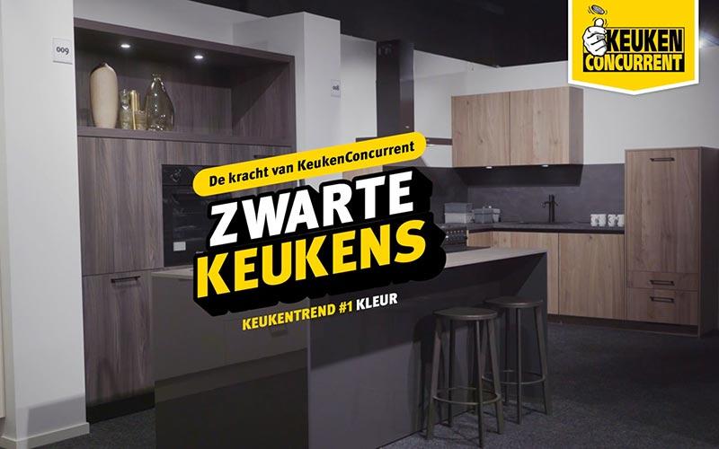 Zwarte keukens video