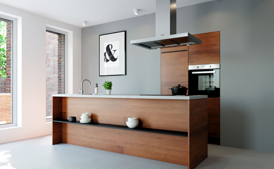 Houten-moderne-keuken