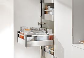 Ladesysteem Voor Keukenkastjes.Praktische Korfladen Keukenconcurrent